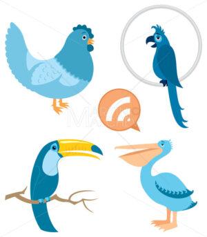 Blue Birds - Martin Malchev