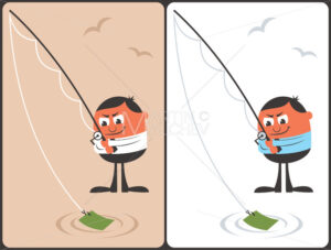 Businessman Fishing Concept - Martin Malchev