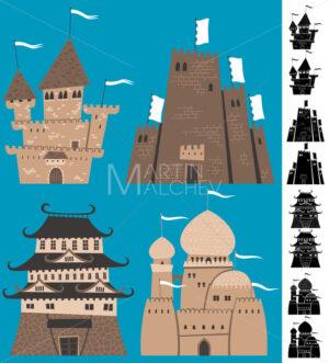 Cartoon Castles - Martin Malchev