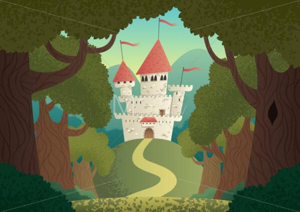 Castle Landscape - Martin Malchev