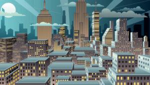 Cityscape Night - Martin Malchev