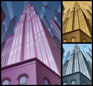 Cityscape Vertical 2 - Martin Malchev