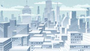 Cityscape Winter - Martin Malchev