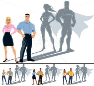 Couple Superhero Concept - Martin Malchev