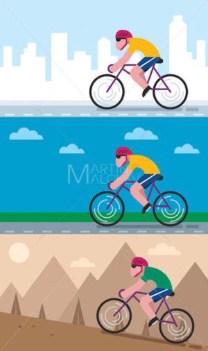 Cycling Backgrounds - Martin Malchev