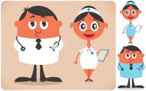 Doctor and Nurse - Martin Malchev