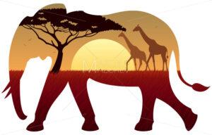 Elephant Landscape - Martin Malchev
