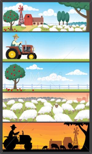 Farm Landscapes - Martin Malchev