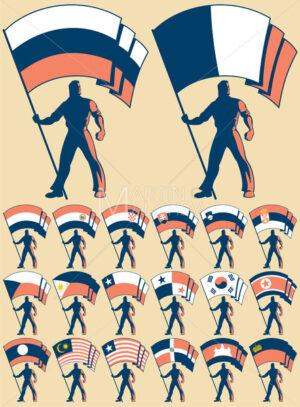 Flag Bearer 3 - Martin Malchev