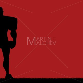 Football Player Background - Martin Malchev