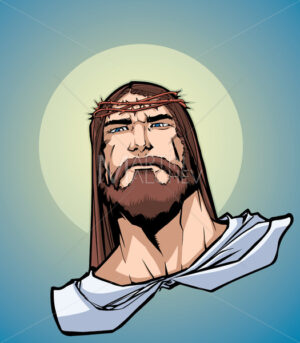 Jesus Portrait Icon - Martin Malchev