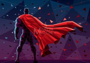 Low Poly Superhero - Martin Malchev
