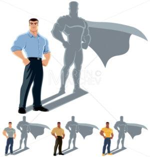 Man Superhero Concept - Martin Malchev