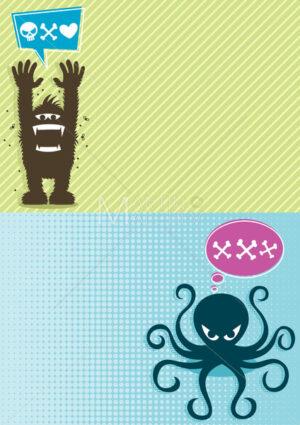 Monster Backgrounds 1 - Martin Malchev