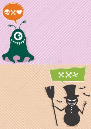 Monster Backgrounds 2 - Martin Malchev