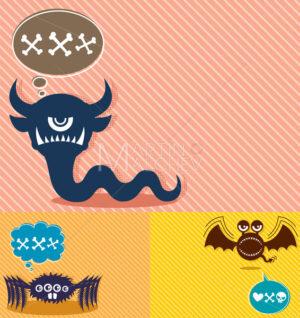 Monster Backgrounds 4 - Martin Malchev