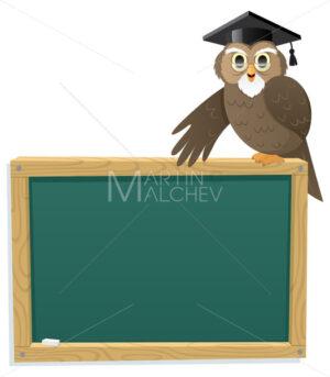 Owl & Blackboard - Martin Malchev