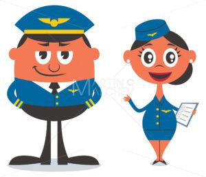Pilot and Air Hostess - Martin Malchev