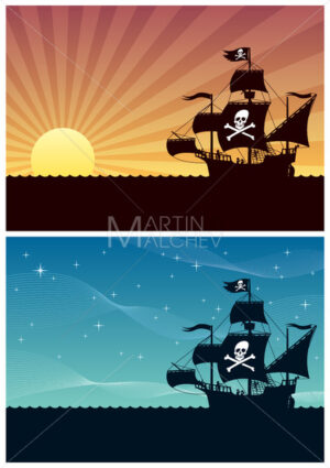 Pirate Backgrounds - Martin Malchev