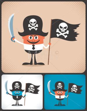 Pirate Businessman - Martin Malchev