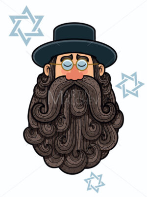 Rabbi Portrait - Martin Malchev