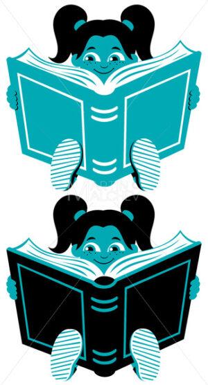 Reading Girl 2 - Martin Malchev