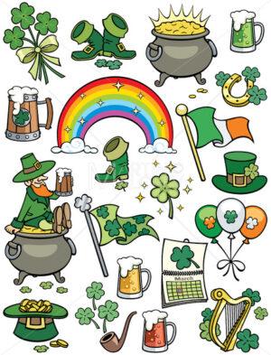 Saint Patrick's Day Elements - Martin Malchev