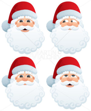 Santa's Head - Martin Malchev
