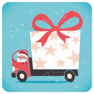 Santa Bringing Gift - Martin Malchev