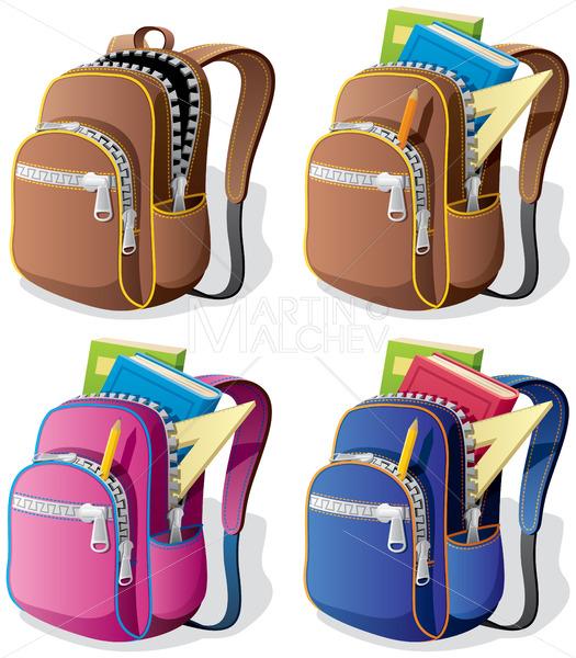 School Backpack - Martin Malchev