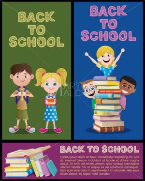 School Banner Set Part 2 - Martin Malchev