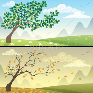 Seasons Landscapes - Martin Malchev