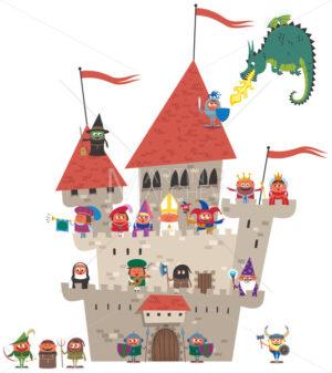 Small Kingdom on White - Martin Malchev