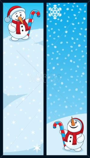 Snowman Banners - Martin Malchev