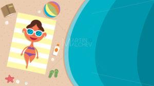 Summer Beach Girl - Martin Malchev