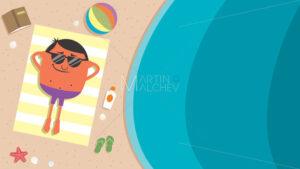 Summer Beach Man - Martin Malchev