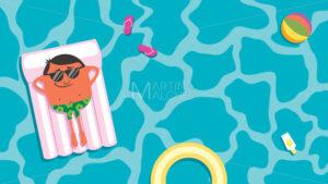Summer Pool Man - Martin Malchev