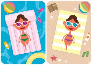 Summer Vacation Girl - Martin Malchev