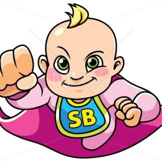 Super Baby Girl Flying - Martin Malchev