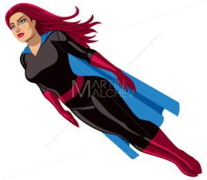Super Heroine Flying - Martin Malchev