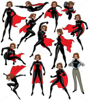 Super Heroine Set - Martin Malchev