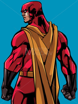 Superhero Back Battle Mode - Martin Malchev