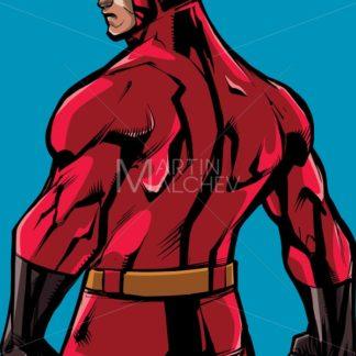 Superhero Back Battle Mode No Cape - Martin Malchev