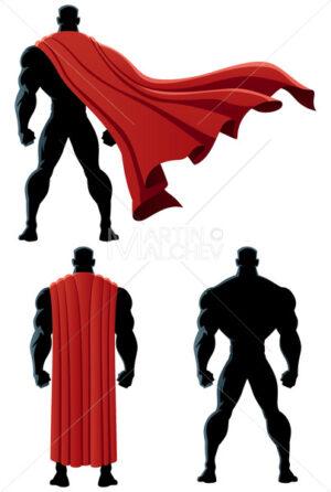 Superhero Back Isolated - Martin Malchev