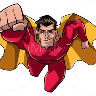 Superhero Coming At You - Martin Malchev