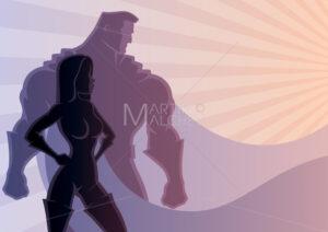 Superhero Couple 3 - Martin Malchev