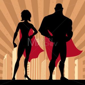 Superhero Couple 4 - Martin Malchev