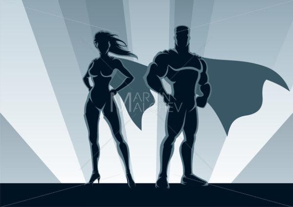 Superhero Couple - Martin Malchev