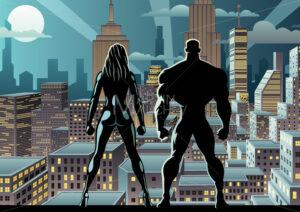 Superhero Couple Watch Night 2 - Martin Malchev