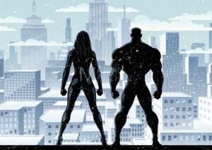 Superhero Couple Watch Winter 2 - Martin Malchev